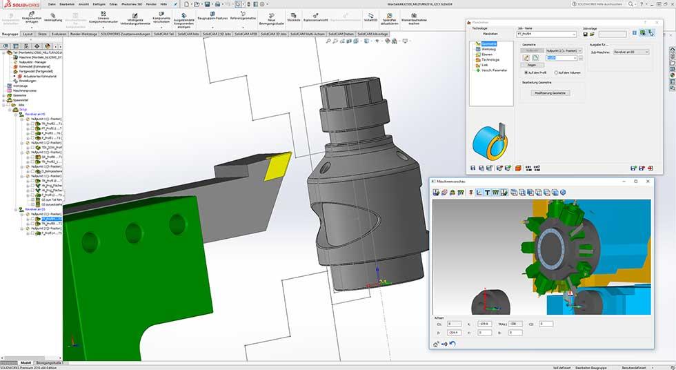 CAD CAM Solidworks Solidcam