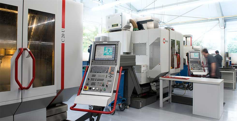 Hermle C20U 5 Achsen CNC Zerspanungstechnik Welcker