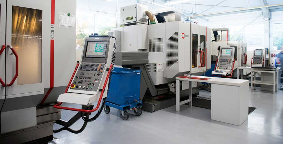 Hermle C20U CNC Zerspanungstechnik Welcker